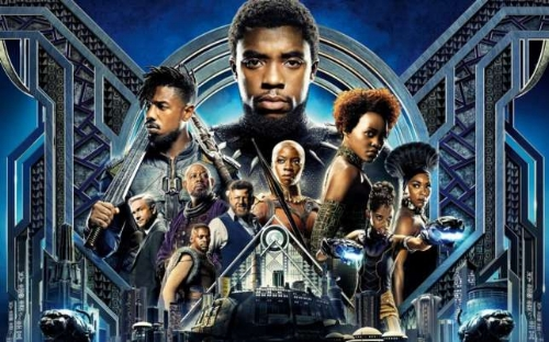 The Gonger goes to the movies... - ...to watch Black Panther