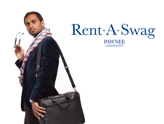 Tom Haverford: About as far as my understanding of startups used to go. [Source: Pando.]