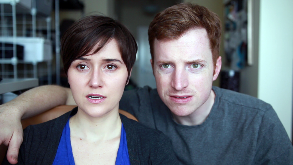 Lots of confused faces. That's what we've gotten when we've tried to explain our daily vlog project to others.