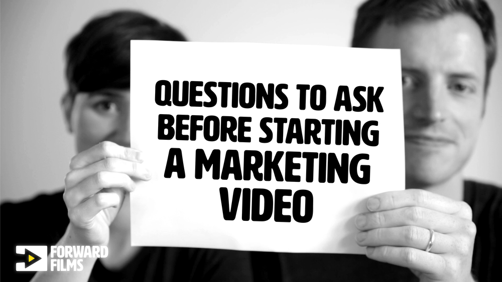Essential questions before you start a marketing video