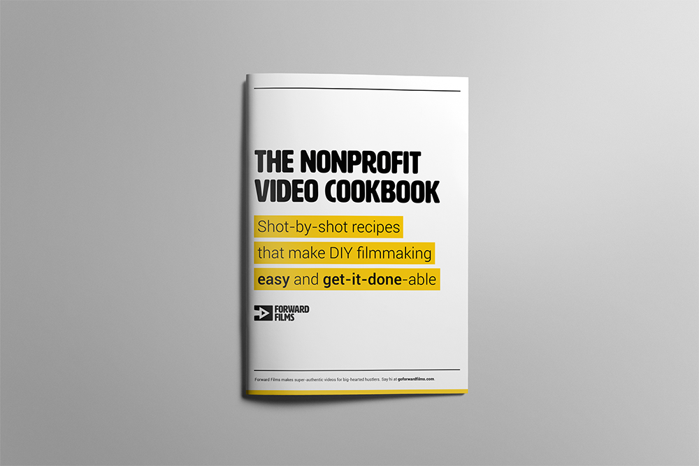 Nonprofit video cookbook