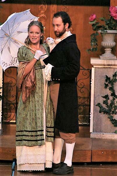 Maria and Boyet