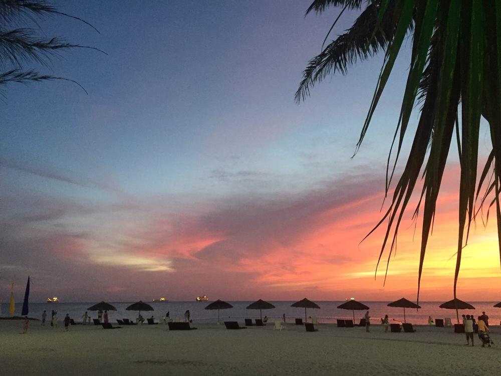 Sunset in Saipan. Photo: Gregg McVicar