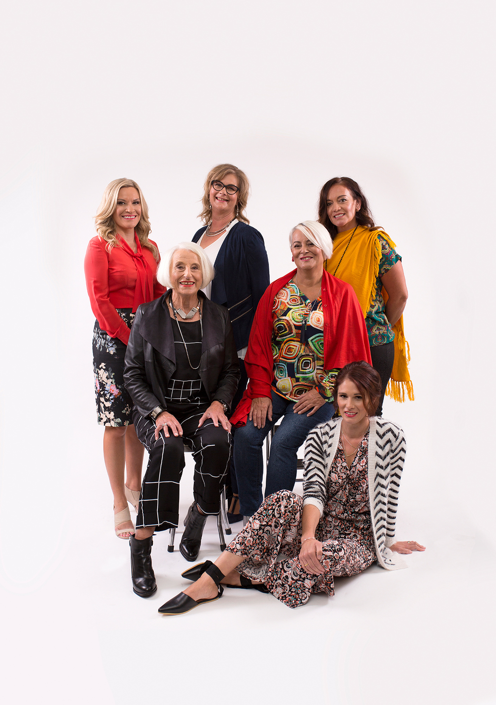 Happy Mothers Day from Aimee, Sharron, Cheryl, Helen, Chrissy and Frankie! our beautiful models for May Admire Fashion Spread.