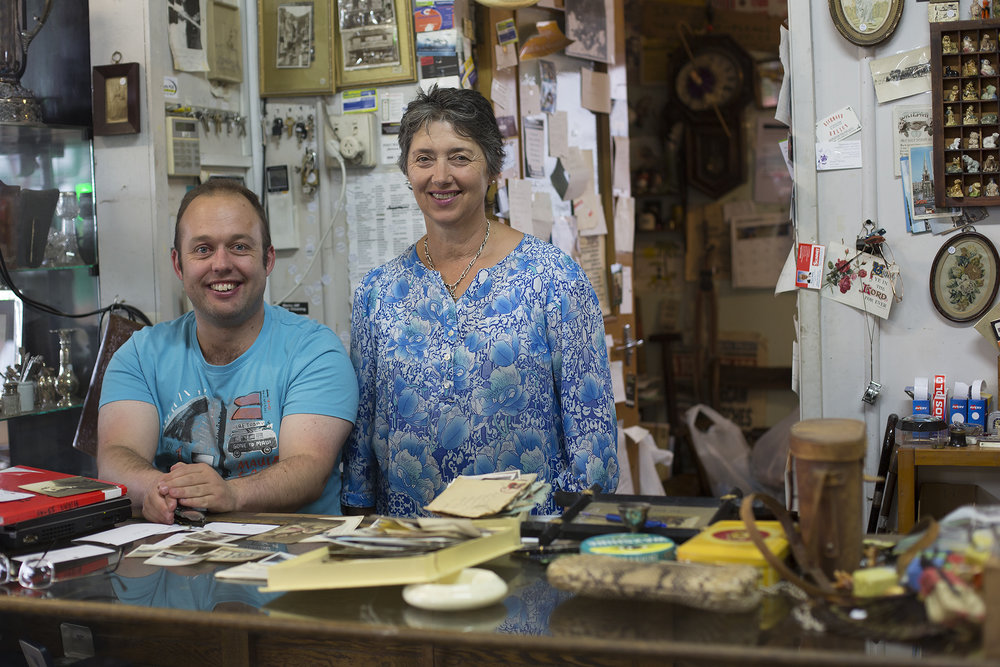 Thank you Logan and Maria, for sharing your wonderful antique store and stories with me.