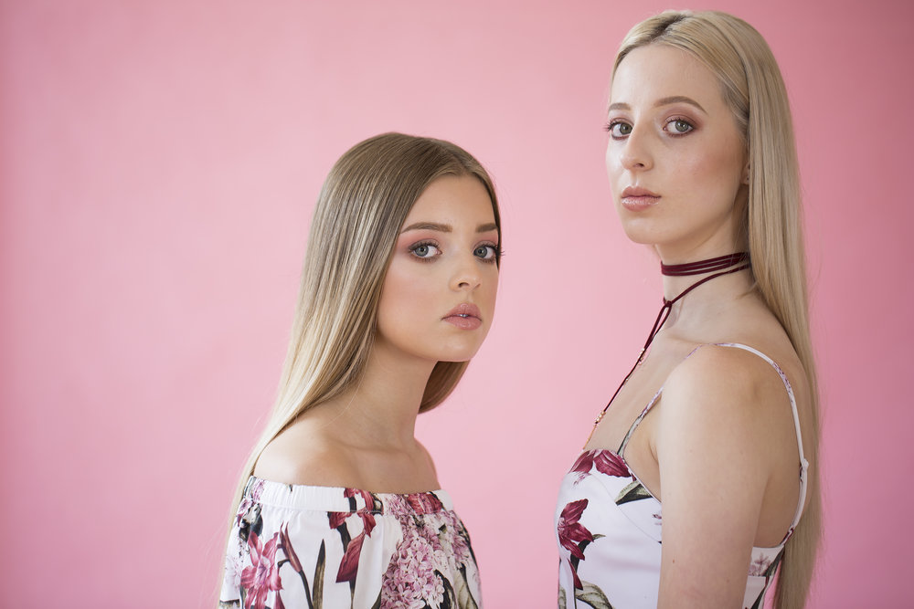 Our Models: Tegan Kelling & Lucy Simpson Fashion from  Portmans   Hair:  Ema Soole  Makeup: Indie Welsh & Lauren Domigan of  Prices Pharmacy   With thanks to  Morrison Square