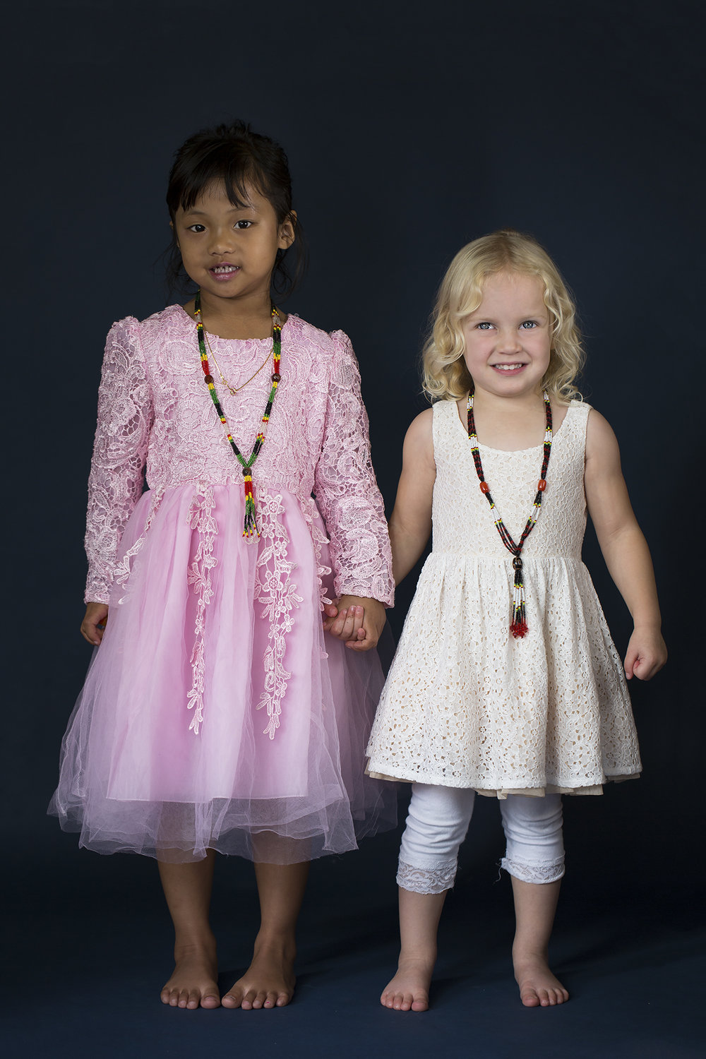 Blessing - Myanmar and Amelia - New Zealand