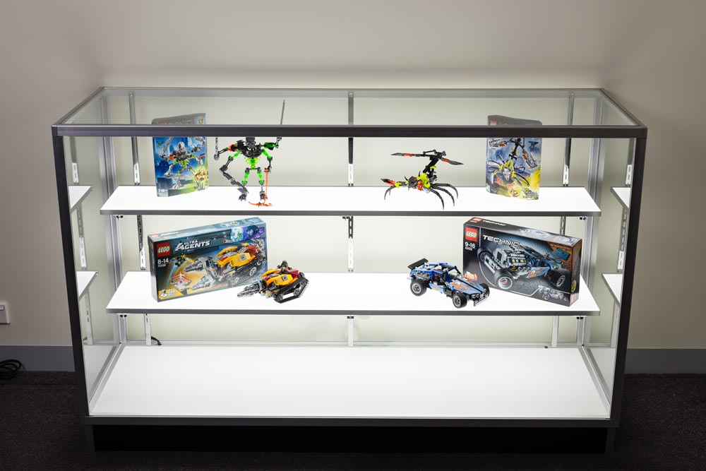 Display Cabinet - Replace glass shelves in standard or custom made display cabinets.
