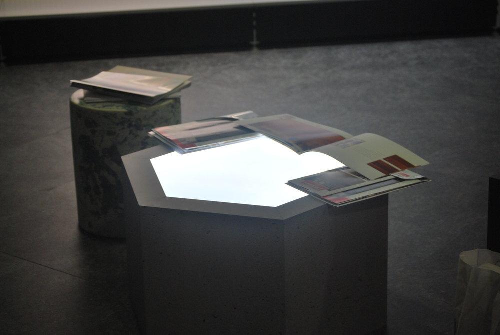 Illuminated Plinth Top