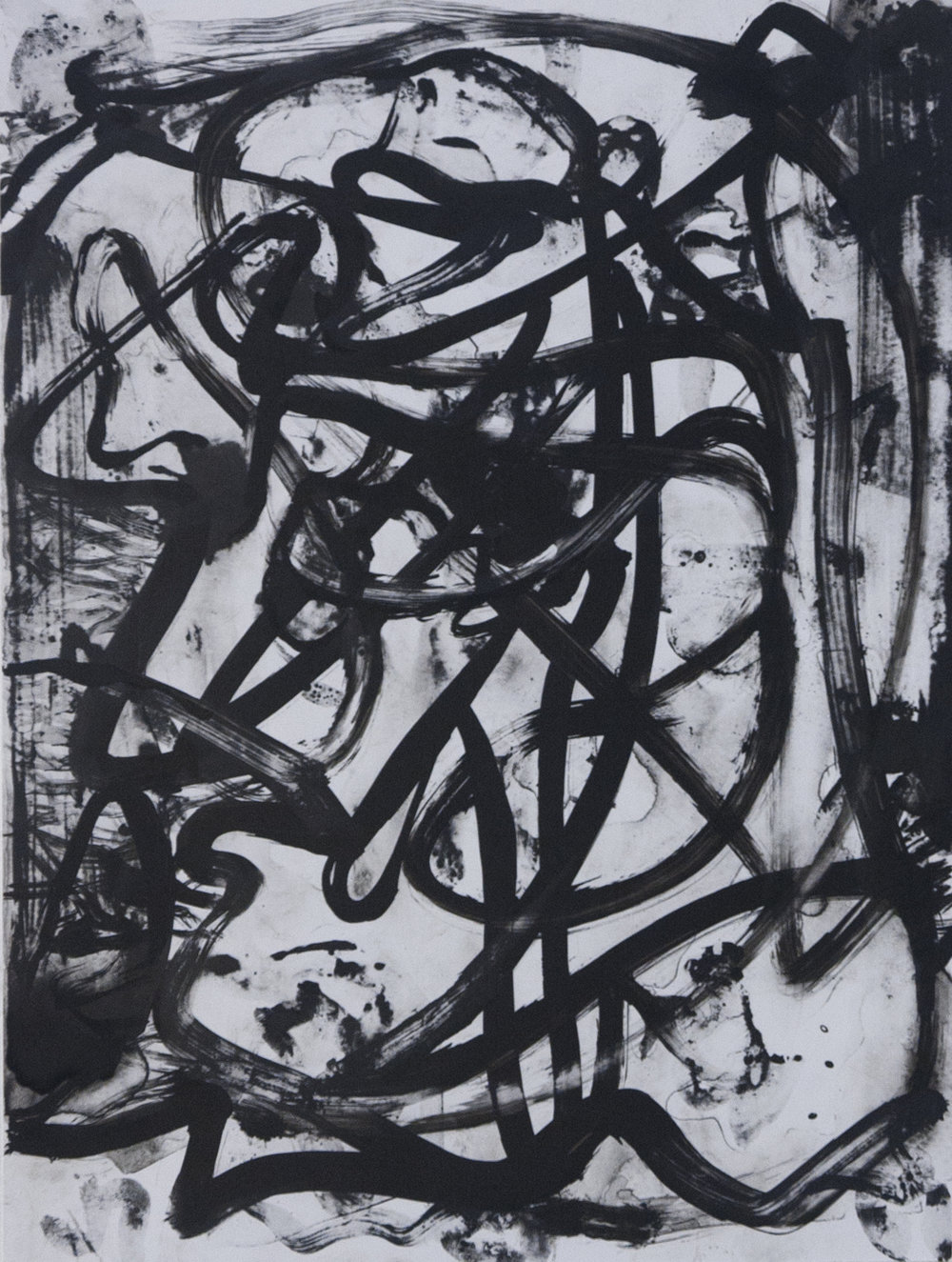 Untitled   Sumi ink on paper