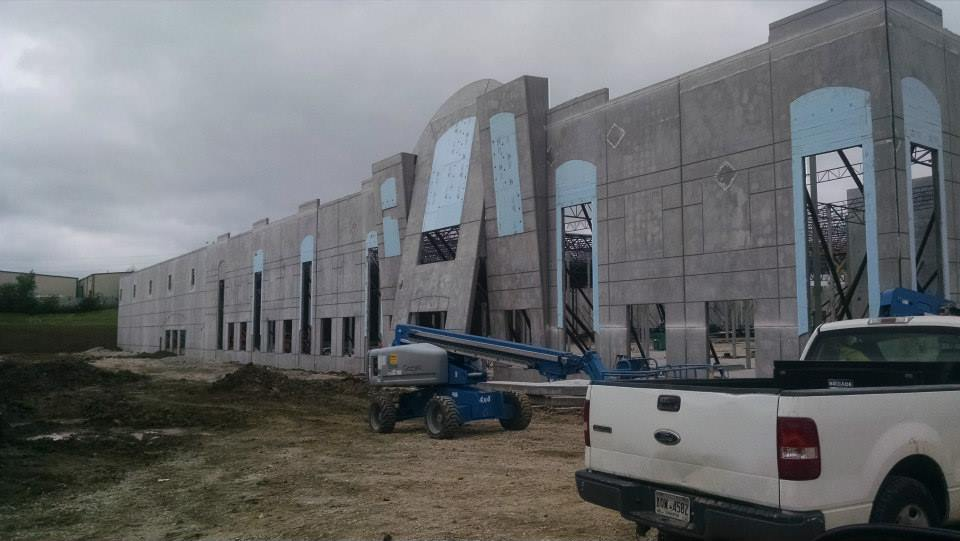 Tilt Up Panels at Republic Distribution Center