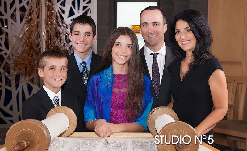 Family Portraits for Your Mitzvah Service