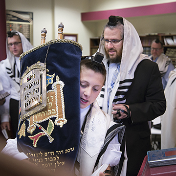 Orthodox Bar Mitzvah
