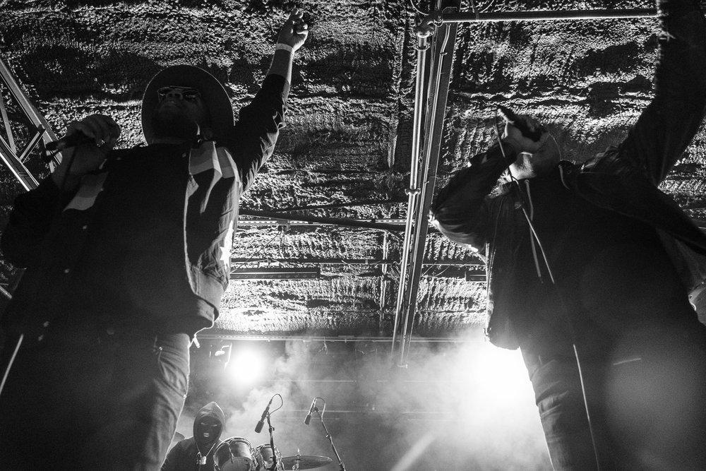 Mobley and Blastfamous USA // Empire Garage // January 2018