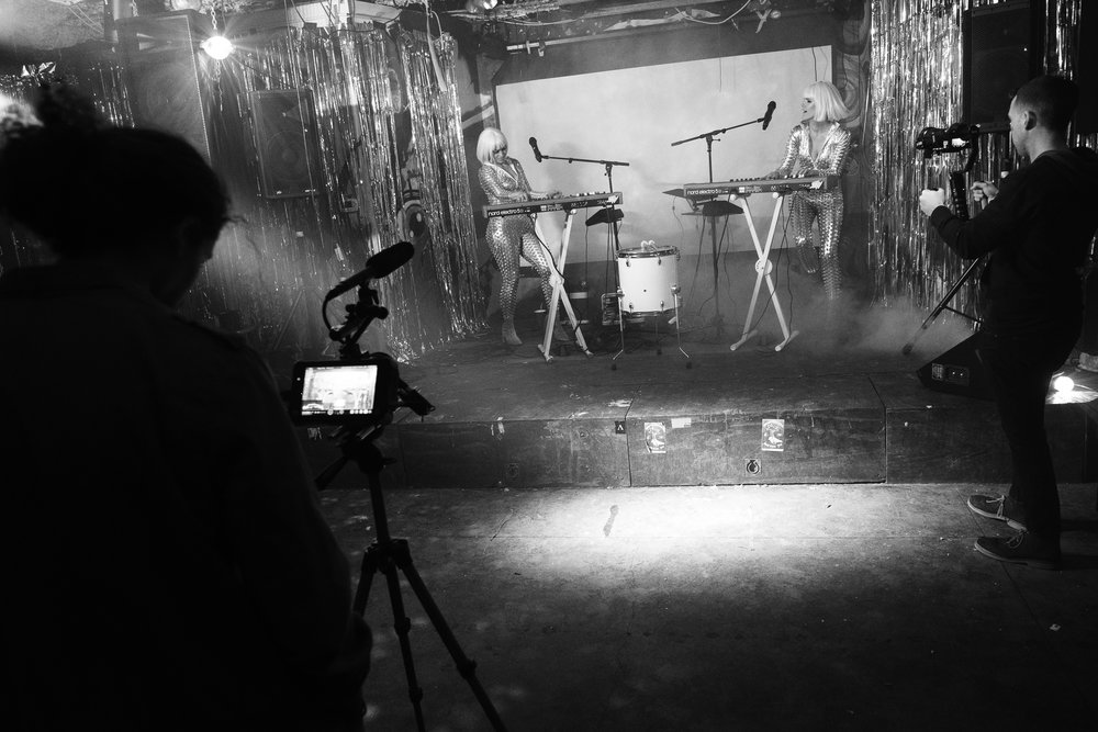 "Behind the Scenes of day two of SIGNY's ""Human"" music video shoot. // January 2018"