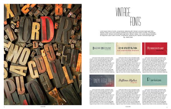 Vintage Fonts Ashli Design Studio