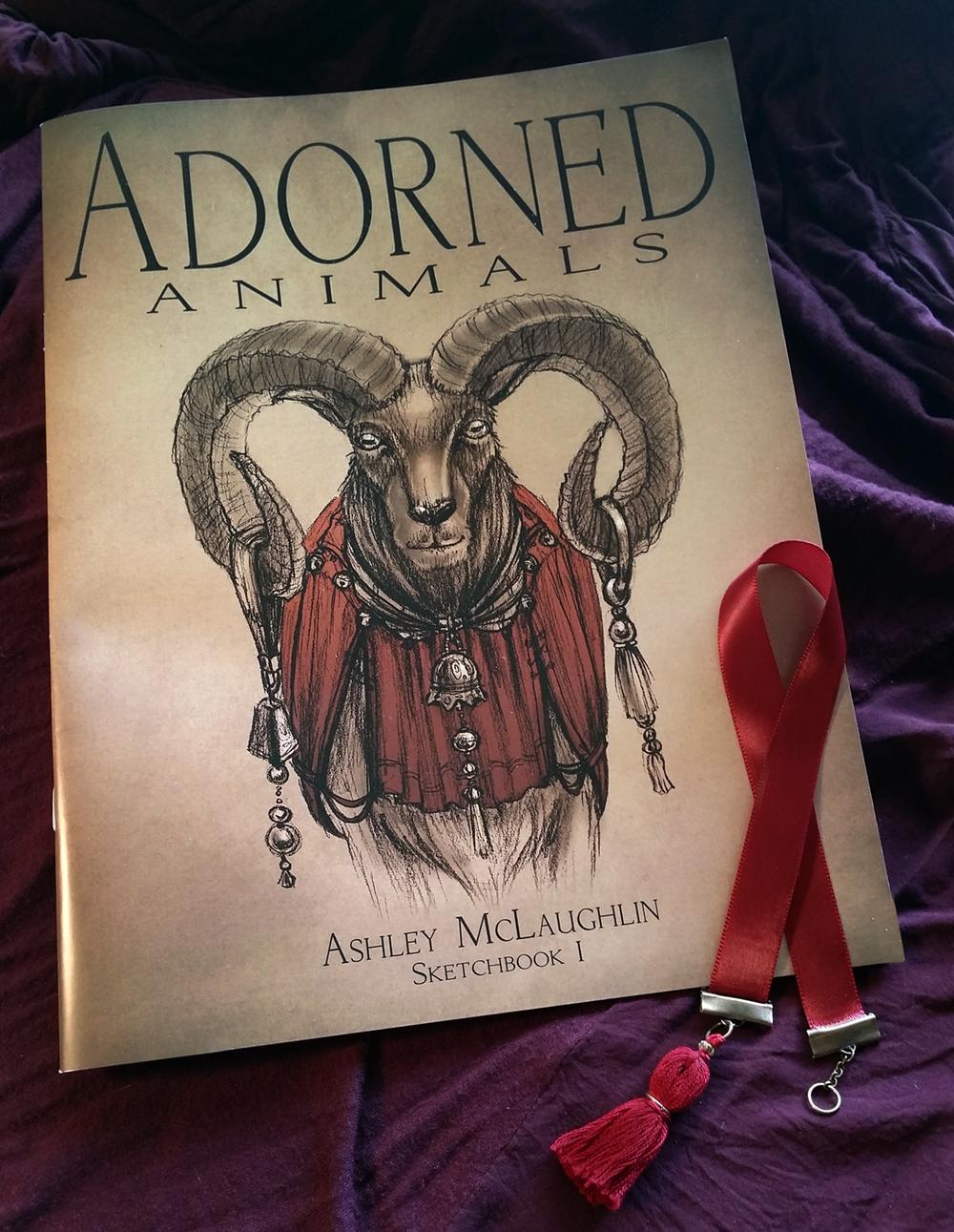 Adorned Animals - A sketchbook of original work