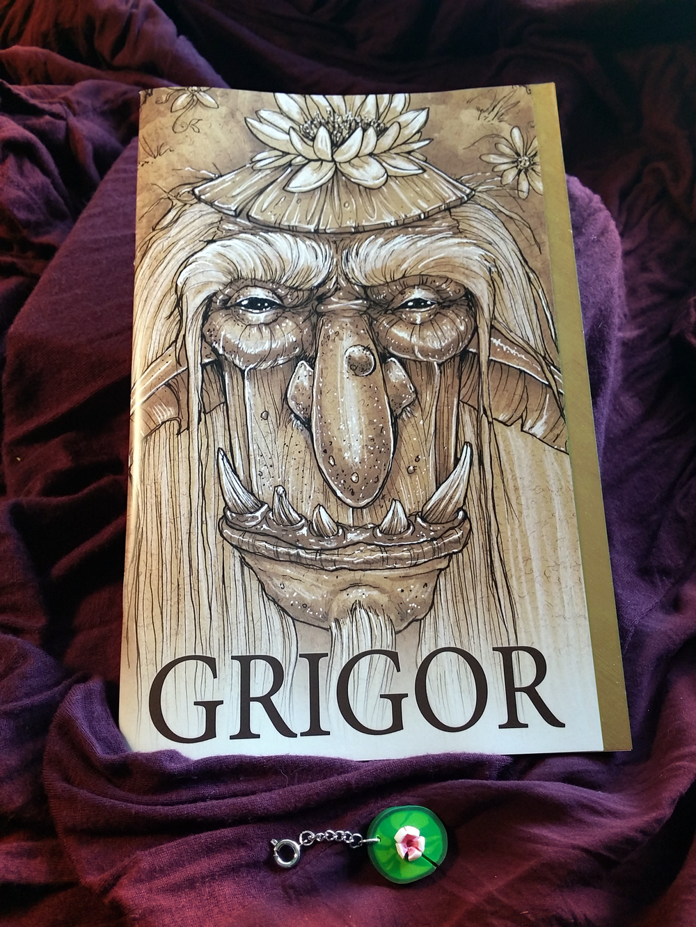 Grigor - An original, self-published Children's Book I wrote and illustrated