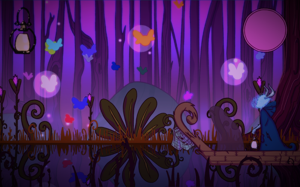 "The Endless River   A game made at Global Game Jam 2018; theme was ""transmission"". Transmit souls from death into their next reincarnation by displaying empathy through a color based puzzle.   This game won ""best use of theme"" at the LSU global game jam site.  Art by Kytana Le, code by  Lindsey Reid , and music by  Lucien Ye ."