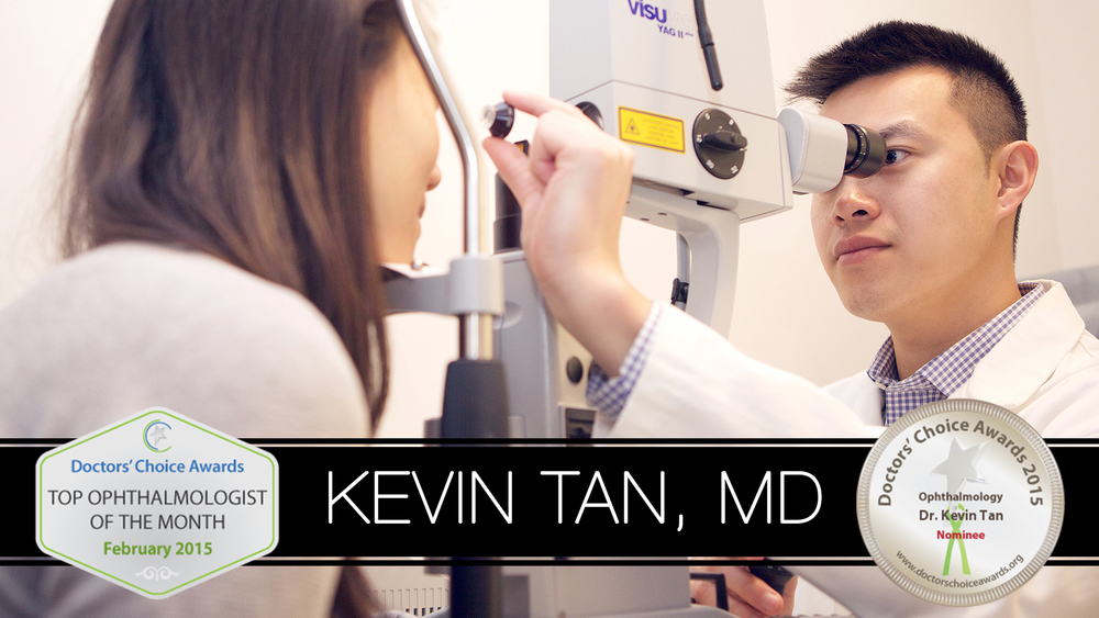 Dr. Kevin Tan awarded Top Ophthalmologist by Doctors' Choice Awards 2015