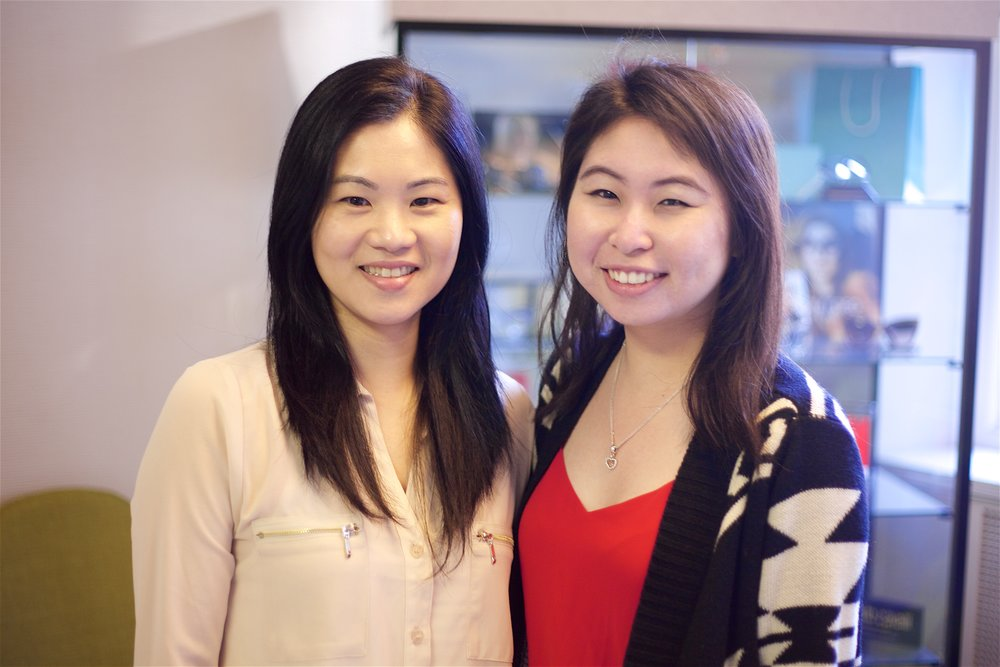 Our Front Office:   Annie & Katty