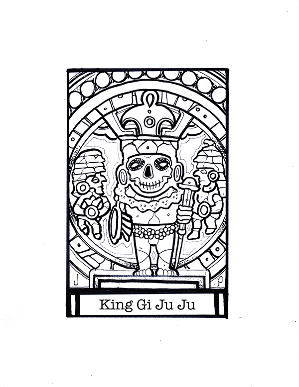King Gi Ju Ju was a Ruler in Pageia around 555 B.C