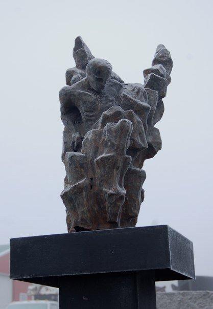 """""""Emergence""""  cast iron  2008"""