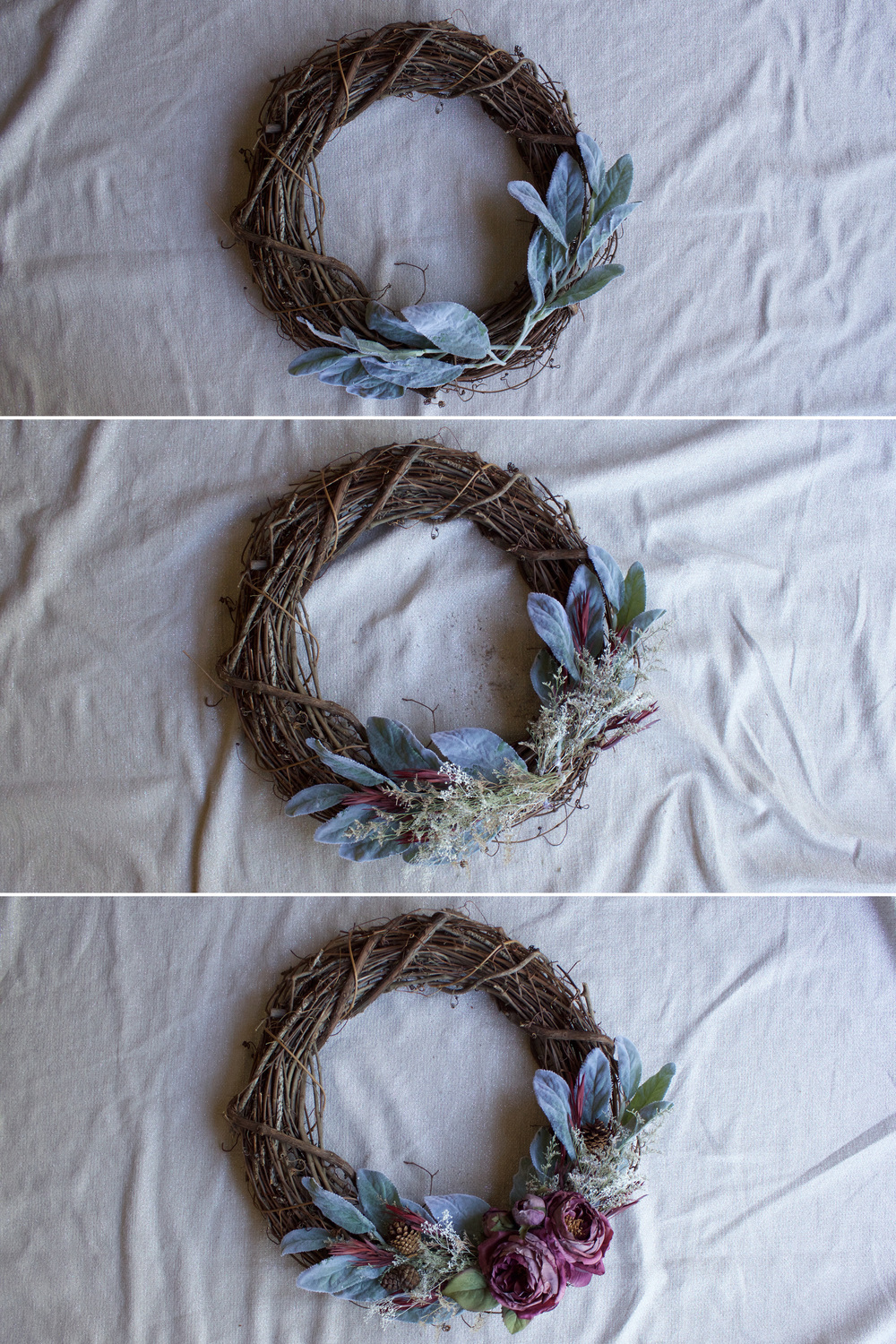 Holiday Wreath (www.withmichellekim.com)