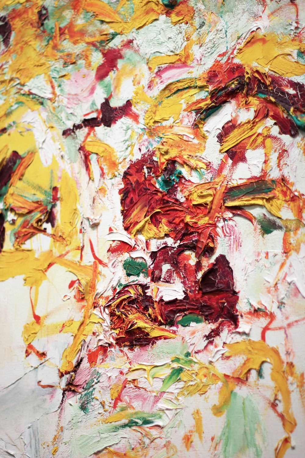 Joan Mitchell's Sunflowers