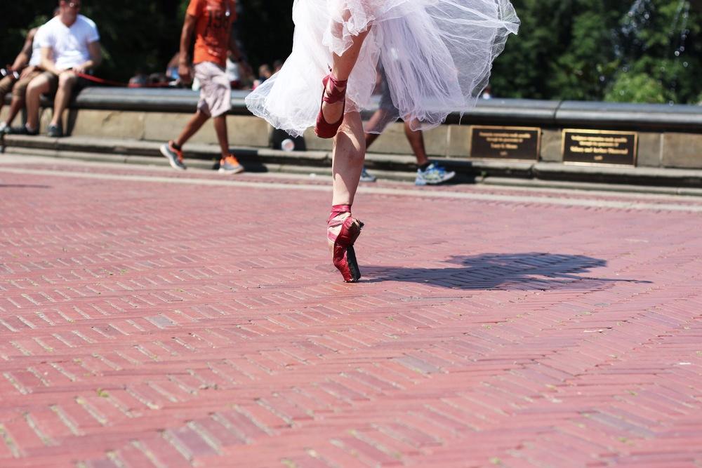 Ballerina at Central Park
