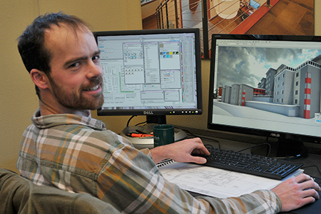 Stephen Clayton, Architect in Training Stephen's passion for design stemmed from a young age and has evolved to his current position at Haven as lead Design Technician. He was initially drawn to a career in architecture as for him it offered a healthy mix between analytical reasoning and creative expression. He is a highly skilled and dedicated individual with an eye for detail. Stephen is exceptionally talented in commercial applications and visualizations and since joining our team in 2013 has assisted in the design of several innovative projects.