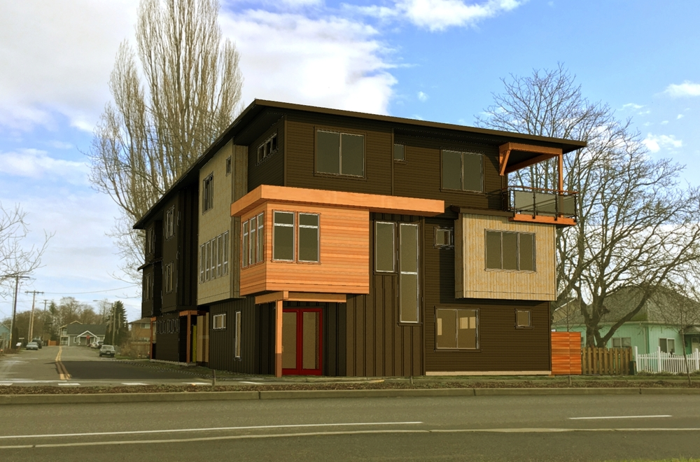 Haven's future office on Second Ave in Ferndale, Washington.
