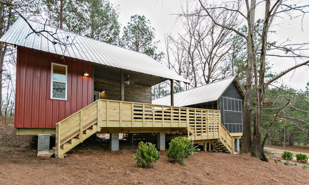 Rural Studio's 20k house outside of Atlanta, GA.