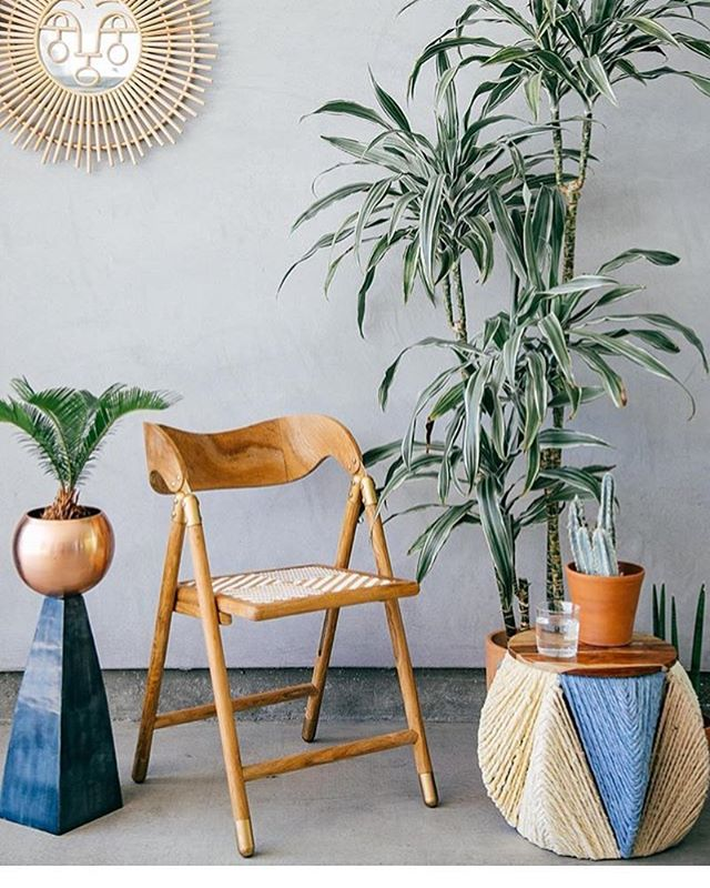 the tastiest interior stylin via @thejungalow 👌🏼🌴 #thejungalow #interiors #palms #plants #copper #peachyinteriors #peachyzine #design