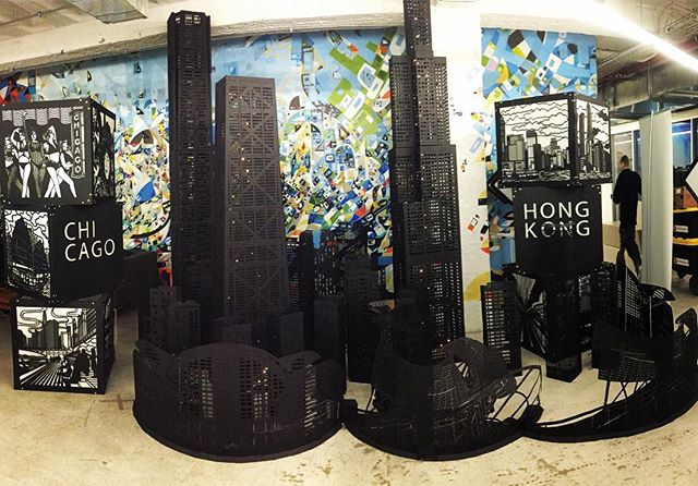 Awesome set up at @1871chicago #chitownlove #chitown #1871 #tech #chicago #merchandisemart