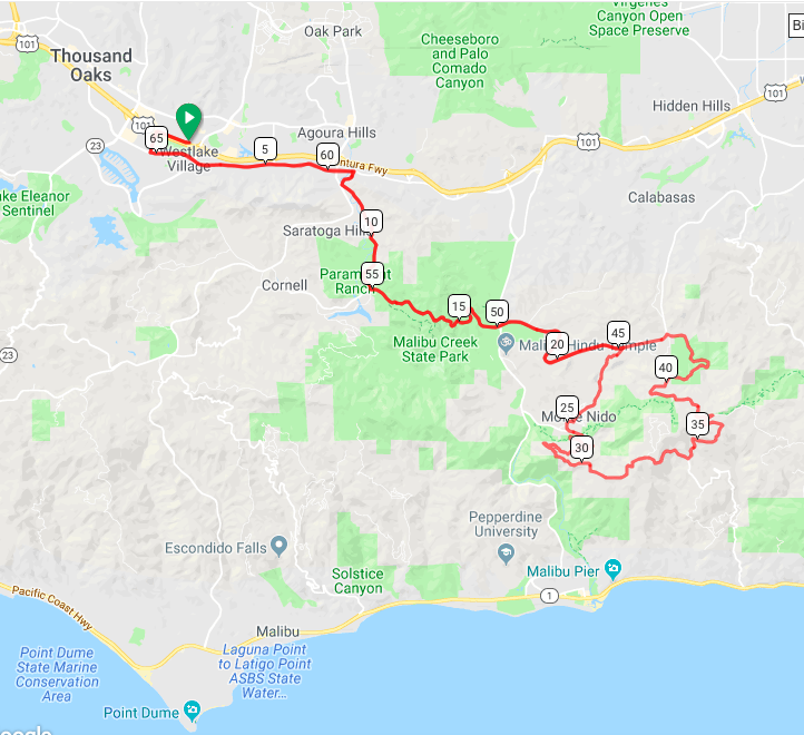 CLICK HERE FOR ROUTE AND ELEVATION DETAILS - unofficial