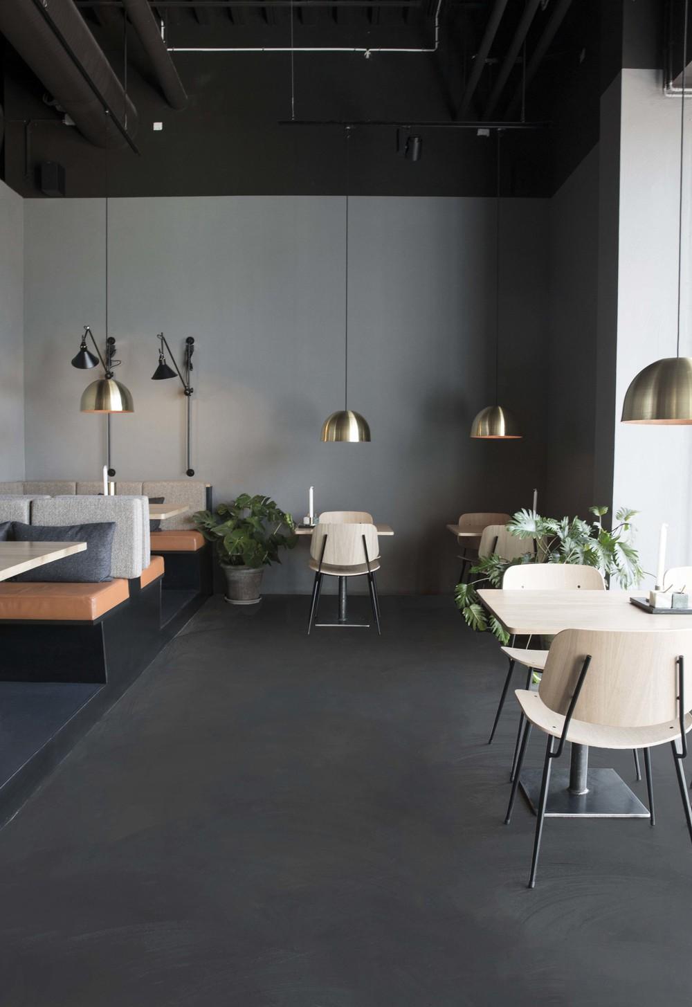 Restaurant design by Johannes Torpe studios for Palæo restaurants in Denmark