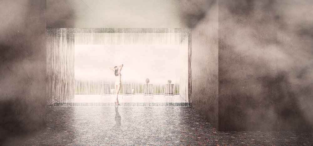 Spa Rain Shower - Interior Design
