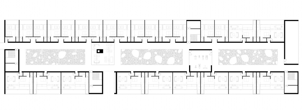 Hotel area floor plan (First Floor)