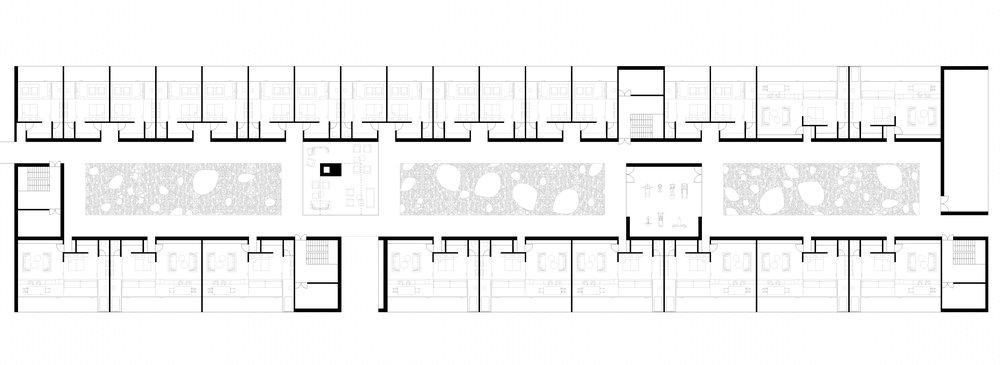 Hotel area floor plan (First Floor)