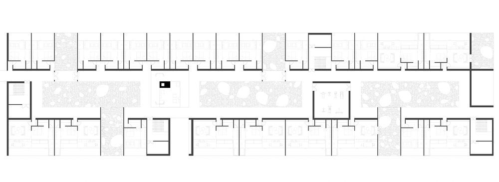 Hotel area floor plan (Ground Level)