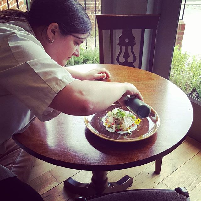 #chefsatwork #womeninbusiness #cheflife #plateart #masterchef #winner #industry #publife