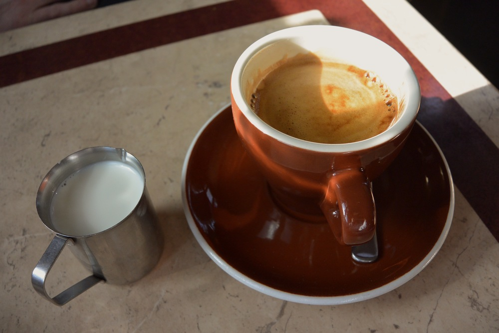 Coffee at the Patchwork Cafe