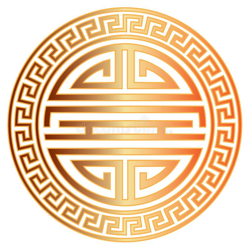 chinese-longevity-symbol-border-vector-illustration-gold-character-scroll-birthday-celebration-93536288.jpg