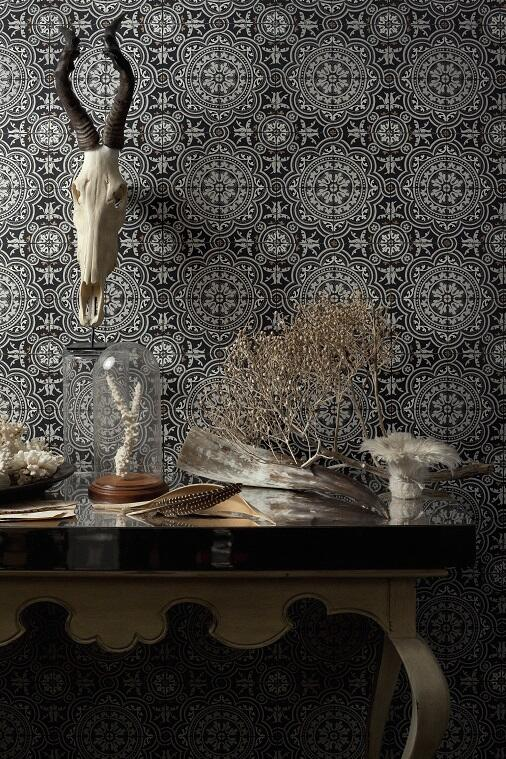 There is nothing shy or retiring about these monochrome Morrocan style tiles. And choosing to decorate withMorroccan tilesis oftenabout making a statement, so why not? If you're going to do it, be bold.
