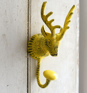 Or this perfect folksy yellow deerfrom Not on the High Street.com