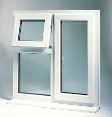 A standard uPVC replacement window style.