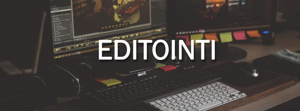 Videotuotanto - editointi