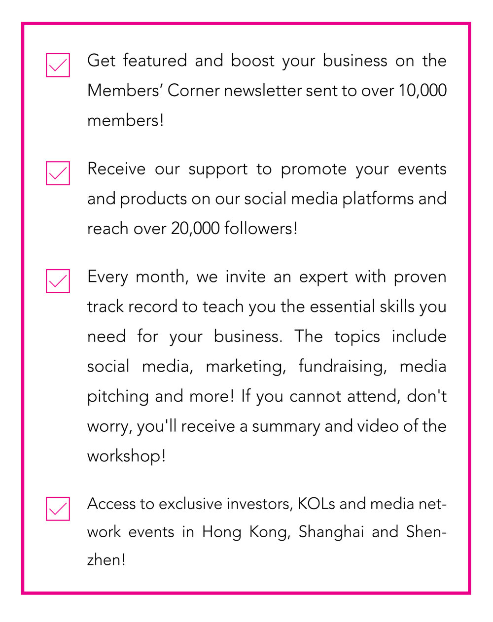 If you choose to join us on the monthly plan, you can cancel at any time with no fees. - (HK$300 Per Month)