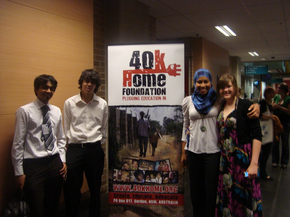 First conference we attended as YWB members in 2008
